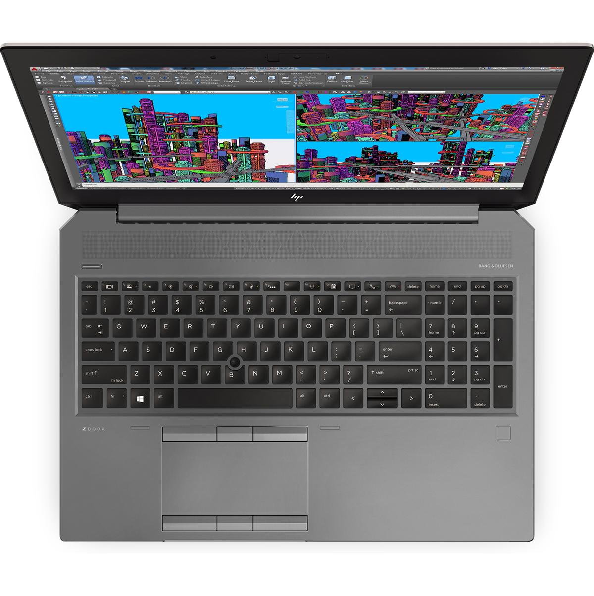 HP-ZBook-15-G5-Draufsicht