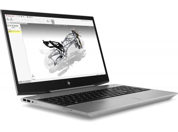 HP ZBook 15v G5, i7-8750H, 2x8 GB RAM, 512 GB SSD